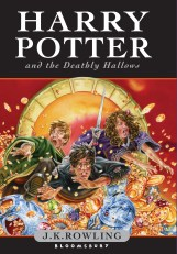 Harry Potter and the Deathly Hallows original cover