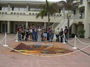 CBC Kingsville art students