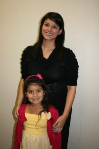 Veronique Ramirez and Kirsten
