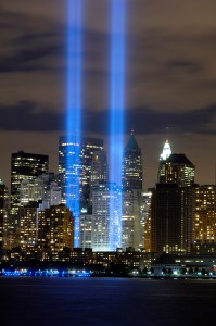 Tribute in Light//USAF photo by David Guild