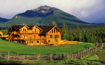 Mountains Log Cabin Homes for Sale