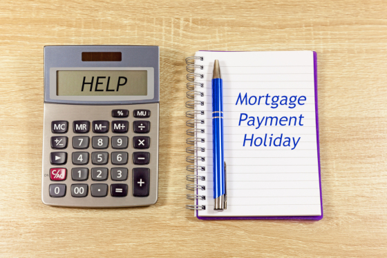 Mortgage Payment Holiday extended