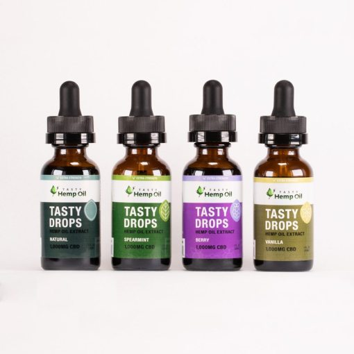 tasty hemp oil drops