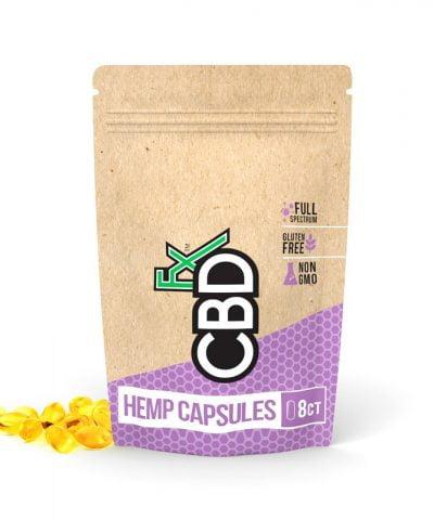 CBD Hemp Oil Capsules