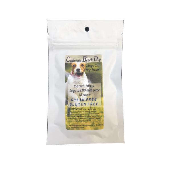 california beach bites cbd dog treats