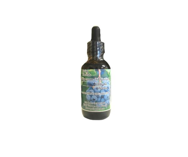 Living Naturals 1600mg blueberry full spectrum cbd oil