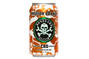 cbd soda passion orange