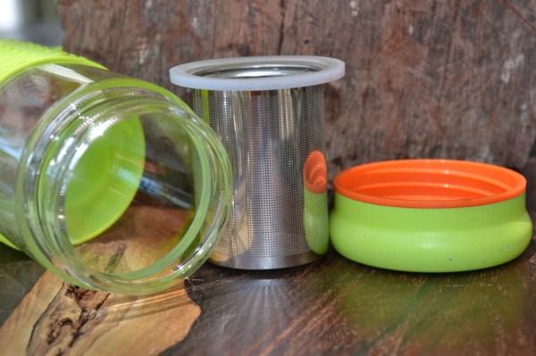Glass Tea Infuser Bottles