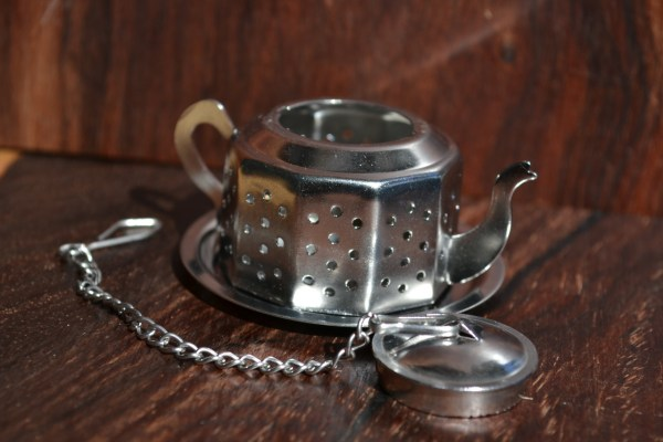 Stainless Steel Infuser Tea Pot