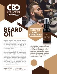 Knockout Men's Beard Oil – Musk 2oz 200mg