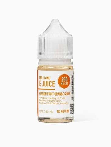 Passion Fruit Orange Guava vaping e-juice