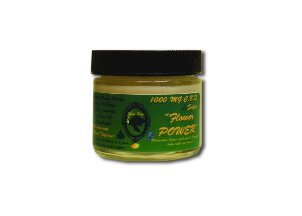 Janevape cbd salve 1000mg flower power