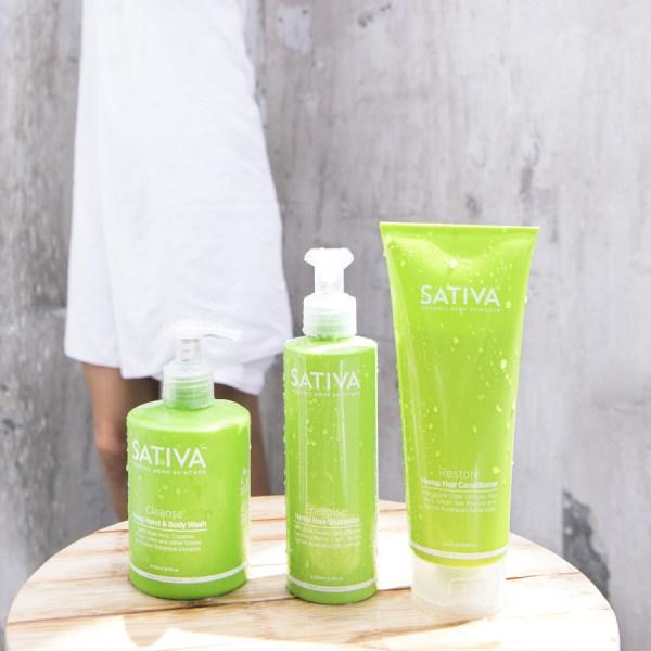Hemp Hair Shampoo - SATIVA HEMP HAIR SHAMPOO