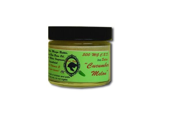 500 mg Cucumber Melon CBD Salve