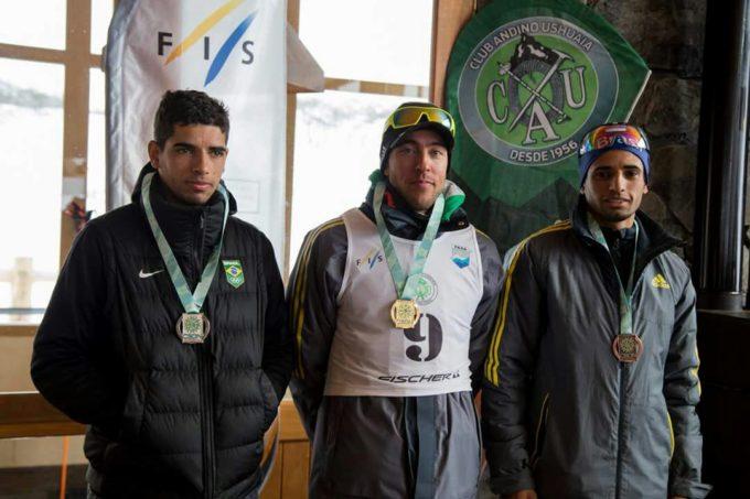 Em Ushuaia, Leandro Lutz vence prova de Distance do Campeonato Brasileiro de Ski Cross Country