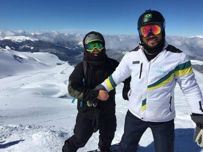"""""""É uma grande vitória para o Brasil trazer provas paralímpicas internacionais de Snowboard à América do Sul"""", André Cintra"""