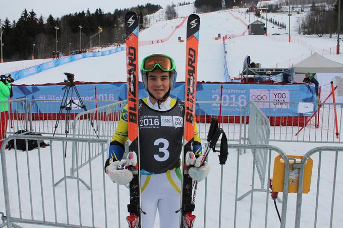 Atleta olímpico da juventude, Michel Macedo disputa 31º Brasileiro de Ski Alpino de olho nos Jogos de PyeongChang 2018