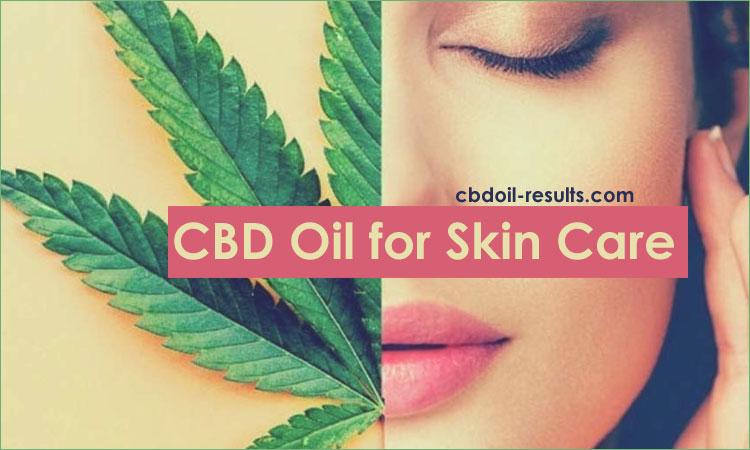 cbd oil for skin care