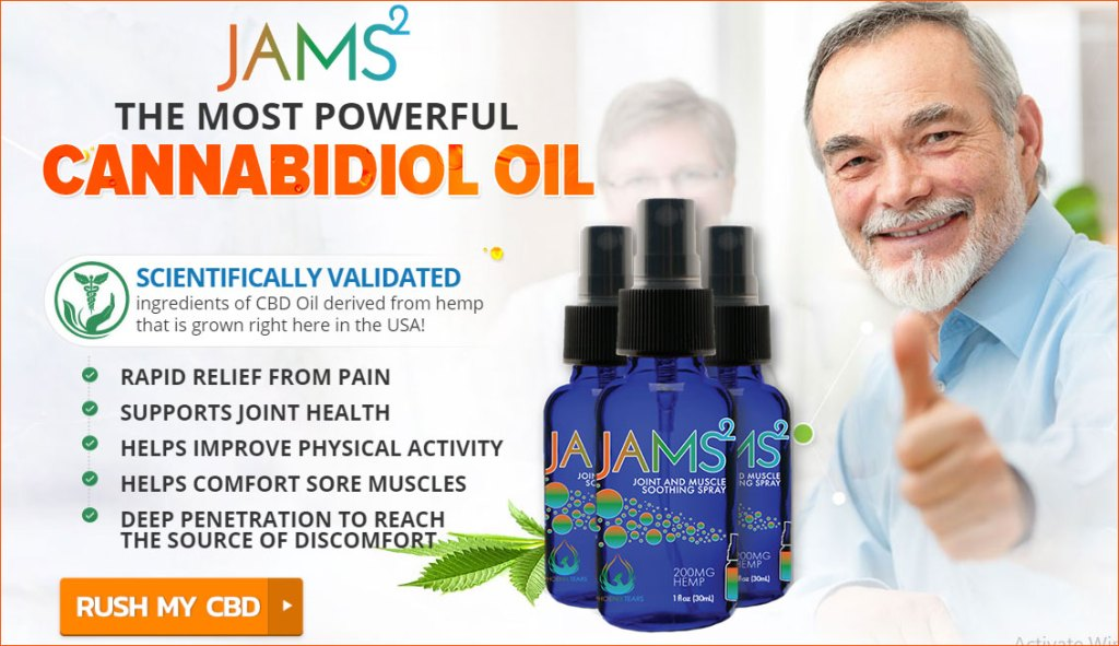 Buy Jams CBD Oil Spray