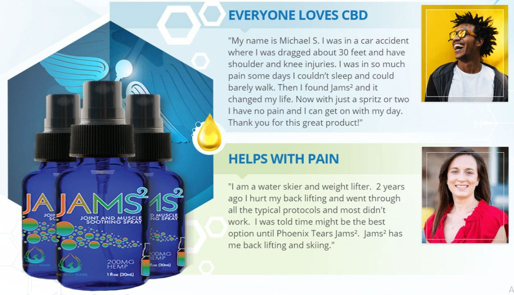 Jams CBD Oil customer reviews