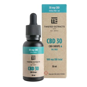 Twisted Extracts - CBD 30 Oil Drops (900mg CBD)