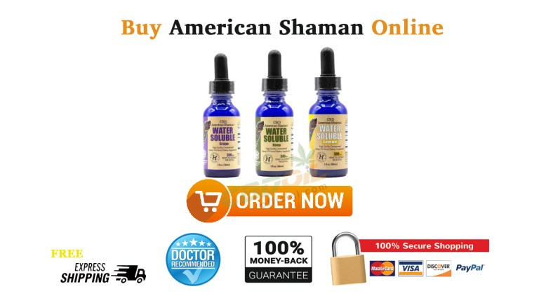 Buy CBD American Shaman Online