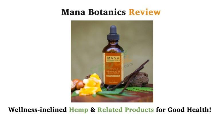 Mana Botanics Review