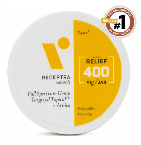 Serious Relief Arniaca Targeted Topical Hemp Balm