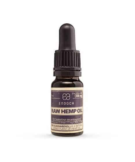 RAW Hemp Oil Drops 300MG CBD+CBDa