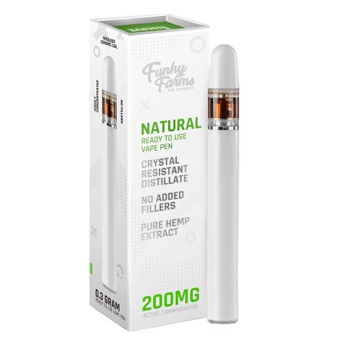 Disposable Vape Pen-Natural