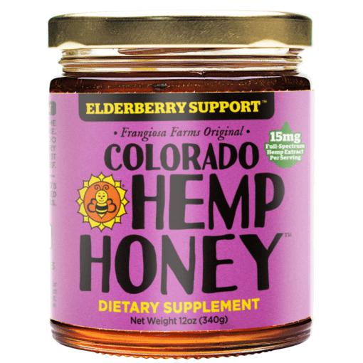 elderberry cbd honey
