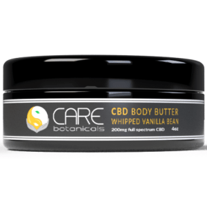 CARE CBD Body Butter - Whipped Vanilla Bean (4oz 200mgCBD)
