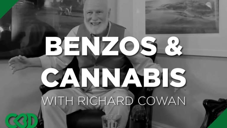 Are benzos a replacement for cannabis? (short answer is no)
