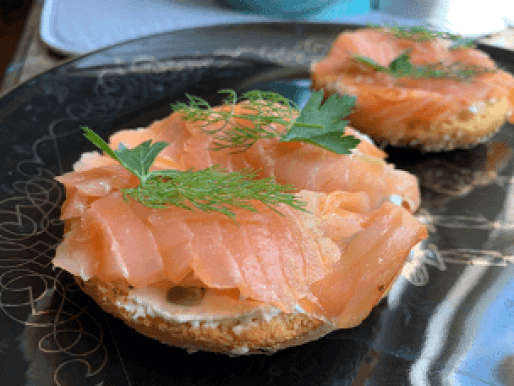 Dr. igor's hemp everything keto mini bagels with smoked salmon recipe
