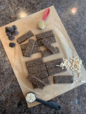 Dr. igor's easy hemp powder fig protein bars recipe