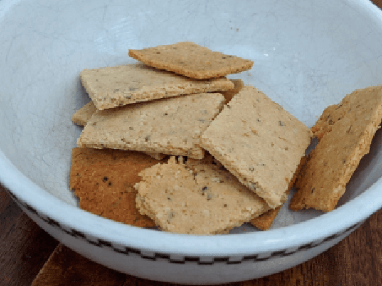 Dr. igor's keto paleo almond flour hemp heart crackers recipe