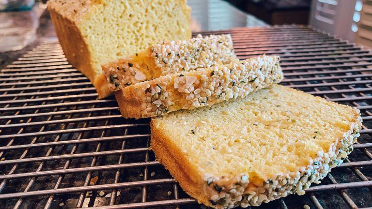 Dr. igor's fluffy hemp heart & sesame keto loaf recipe