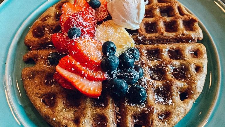 Dr. igor's buckwheat super-seed waffles recipe