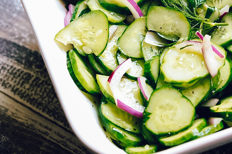 Dr. igor's smashed cucumber salad with hemp hearts recipe