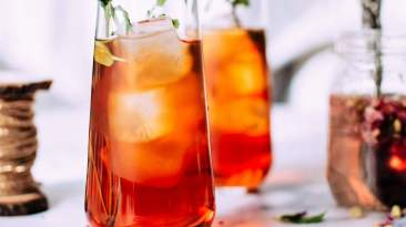 Dr. Igor's Mango Berry Mint Cold Steeped Tea Recipe
