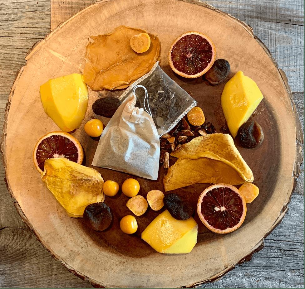 Dr. Igor's Mango Apricot Hibiscus Cold Steeped White & Green Tea Recipe