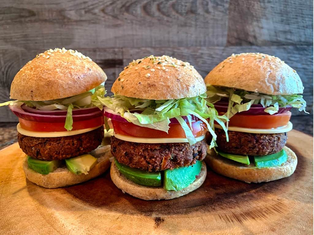Dr. Igor's Best Vegan Sliders on  Yeasted Buns Recipe