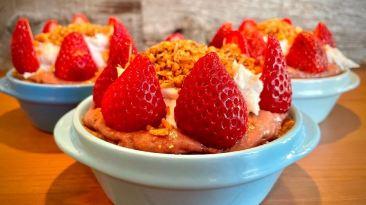 Dr. Igor's Raw Mini Strawberry Pies Recipe