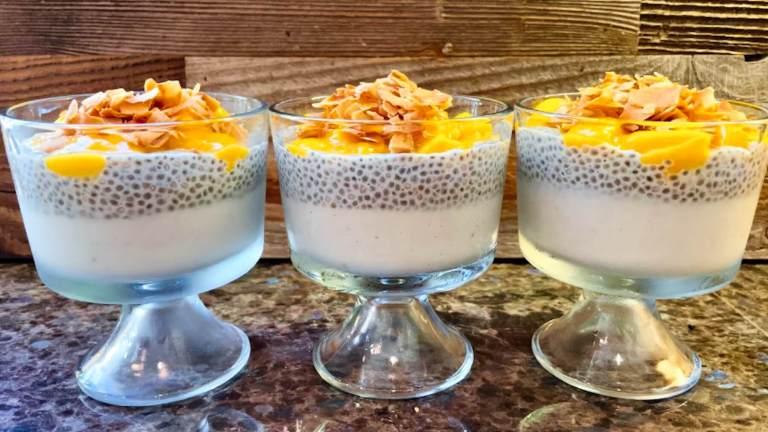 Dr. Igor's Paleo Coconut Mango Parfait Recipe