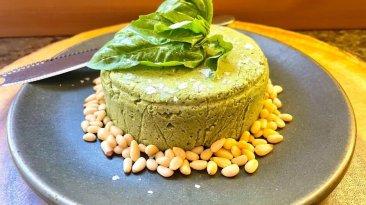 Dr. Igor's Vegan Pesto Pepitas Cheese Wheel