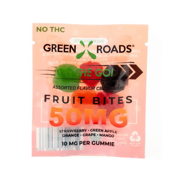 CBD Fruit Bites 50mg