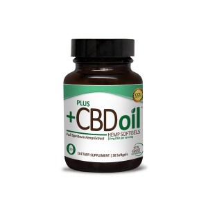 Plus CBD Oil Softgels Green Formula 10mg CBD per softgel (30 ct)