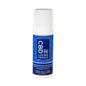CBD Living Freeze Roll On 750mg