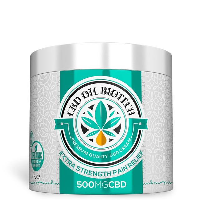 Biotech CBD Cream 500MG (diamond)