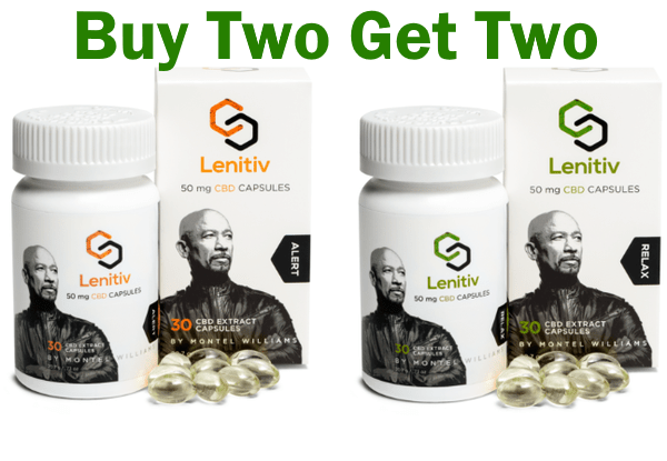 CBD Softgels Deals: Lenitiv - Buy Two Get Two
